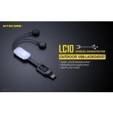 Nitecore LC10 Ladegerät für Li-Ion/IMR Akkus mit Powerbank-Funktion