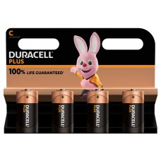 Duracell Plus MN1400 C/Baby/LR14 Batterie 4-Pack