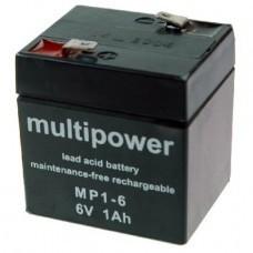 Multipower MP1-6 Bleiakku