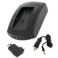 AccuPower Schnell-Ladegerät passend für Fuji NP-40, Finepix F402