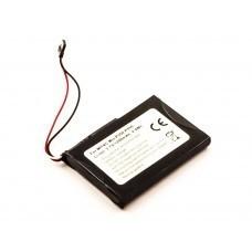 AccuPower Akku passend für Mitac Mio P350, P550, BP-LP1230