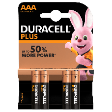 Duracell Plus MN2400 AAA/Micro Batterie 4-Pack