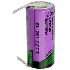 Tadiran SL761/T 2/3AA Lithium Batterie mit Lötfahnen