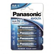 Panasonic EVOIA AA/Mignon Alkaline Batterie 4-Pack