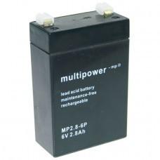 Multipower MP2.8-6 Bleiakku