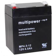 Multipower MP4.5-12 Blei-Akku, 12Volt