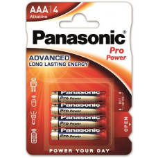Panasonic Pro Power AAA/Micro/LR03 Batterie 4-Pack