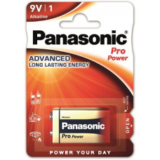 Panasonic Pro Power 9Volt/6LR61 Alkaline Batterie