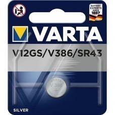 Varta LR43-V12GA, 186, 84, LR1142 coin cell