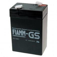 Fiamm FG10451 lead-acid battery 6 Volt