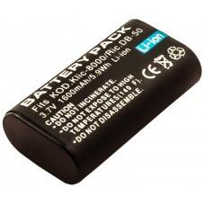 AccuPower battery suitable for Ricoh DB-50, Caplio R1, R2, RZ1