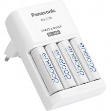 eneloop quick charger BQ-CC55 including 4 x AA / Mignon batteries