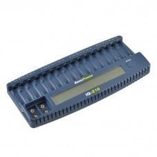 AccuPower 16-Slot Charger IQ216 for AA/Mignon AAA/Micro Ni-Cd/Ni-MH