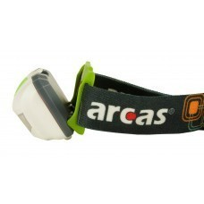 Arcas 3 Watt LED headlight 4 functions, 120 lumens incl. 3x AAA batteries