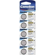 Brand CR2016 Lithium 3V Button Battery 5-Saver Set