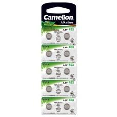 Camelion button cell AG3, SR41, SR41W, L736F, LR41, V392, 10-pack