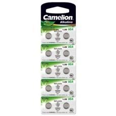 Camelion button cell AG4, 377, LR626, SR66, SR626SW, 10-Pack