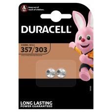 Duracell button cell 357, 303, V357, V303, SR44W, V13GS