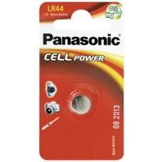 Panasonic LR44 V13GA, A76, 82, LR1154, 357A coin cell