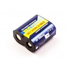 Batterie AccuPower pour batterie Li-ion rechargeable CR-P2 CRP2