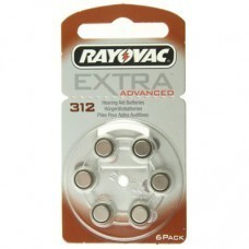 Rayovac Extra HA312, PR41, Lot de 6 piles pour appareil auditif