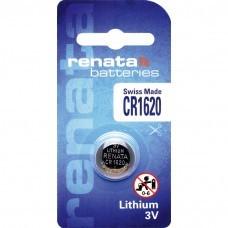 Pile bouton au lithium Renata CR1620.CU
