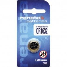 Pile bouton au lithium Renata CR1632.CU