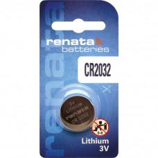 Pile bouton au lithium Renata CR2032.CU MFR