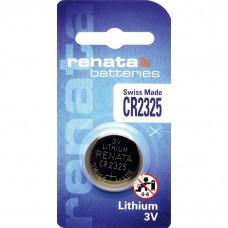 Pile bouton au lithium Renata CR2325.CU