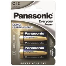 Paquet de 2 batteries LR14SPS C / bébé standard Power de Panasonic