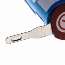 Cellule VHBW 14500 pour rasoirs, brosses à dents et autres Philips avec 2 contacts
