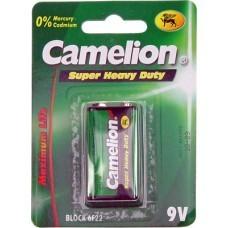 Bloc 9V zinc-carbone Camelion 6F22