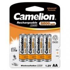 Pile Camelion AA / Mignon 4 blisters NiMH 2500mAh