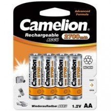 Pile Camelion AA / Mignon 4 blisters NiMH 2700mAh