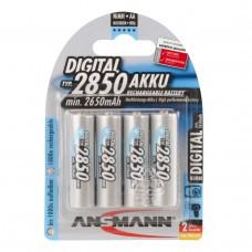 Ensemble de 4 piles Ansmann Digital NiMH AA / Mignon