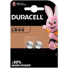 Lot de 2 piles Duracell LR44, V13GA, GPA76, 82, LR1154, 357A