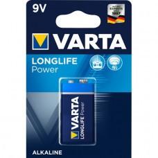 Varta 4922 pile haute énergie 9Volt / 6F22