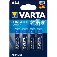 Varta 4903 4 piles AAA / micro haute énergie