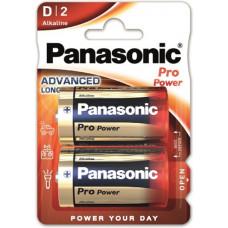 Paquet de 2 batteries Panasonic Pro Power D / Mono / LR20
