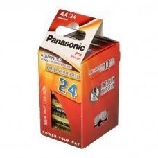 Pack de 24 piles AA / Mignon / LR6 Panasonic Pro Power