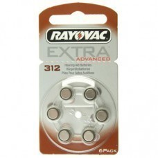 Extra Rayovac HA312, PR41, 4607 batteria dell'apparecchio acustico 6