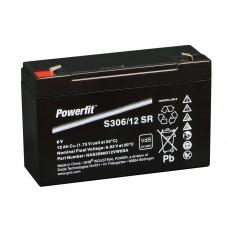 batteria Exide Powerfit S306 / 12SR piombo