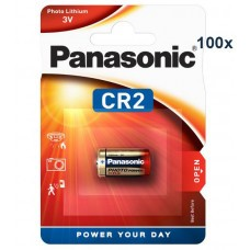 Panasonic CR2 batteria al litio CR2EP 100-Pack