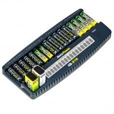 AccuPower IQ216 Caricabatterie a 16 canali Ni-Cd / Ni-MH