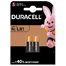 Pacco batterie alcaline Duracell Lady / N / LR1
