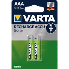 Varta Solar Accus AAA / Micro 550mAh 2-Pack