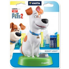 Luce notturna Varta Secret Life of Pets con 3 batterie AAA