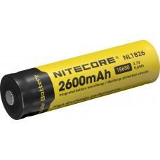 Batteria agli ioni di litio Nitecore tipo 18650 2600mAh NL1826