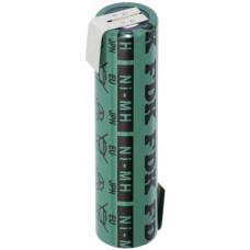 FDK / Panasonic batteria HR-4 / 3FAU 4 / 3A con terminali a saldare