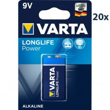 batteria / 6F22 Varta 4922 High Energy 9V 20-pack